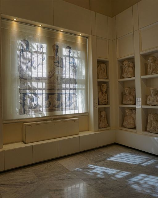 Lights and Shadows at the Archaeological Museum of the American University...