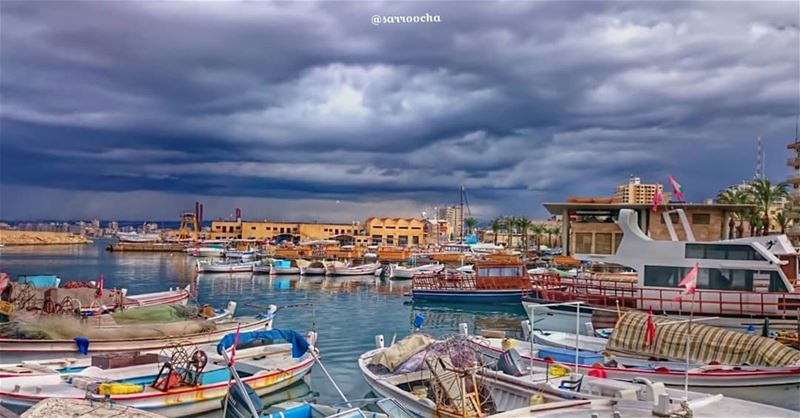 Winter Is Coming ☁ ☔ takenbyme ptk_Lebanon visitlebanon ... (مدينة صور - Tyre City)