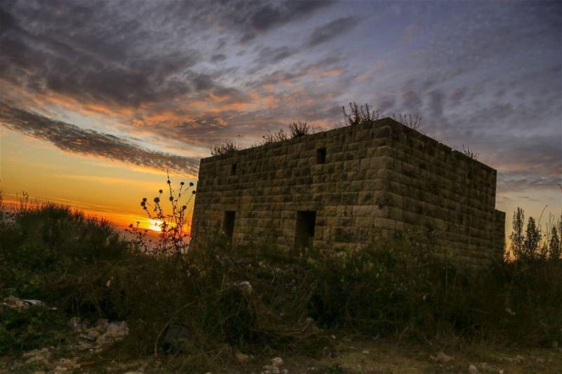 ============================= sunset sunsetlovers libanon me... (Hammana)