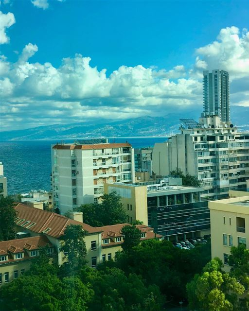 Beirut, a coastal city, is flanked by a mountain range. Soon it will be...