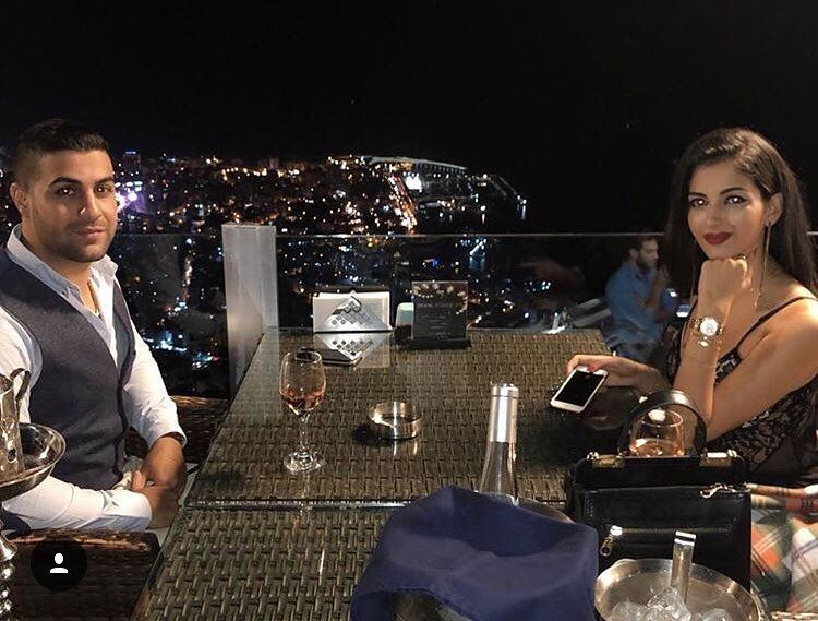 Wine and dine 🍷 📷 @tiamariahabchy  DinnerwithaView  AtTheTop ... (The Terrace - Restaurant & Bar Lounge)