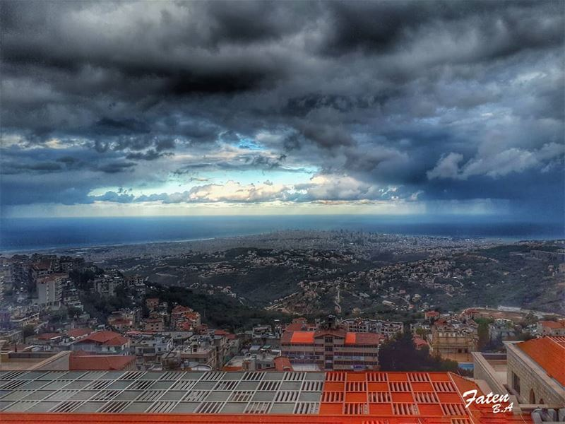 My morning... ☁⛅☁👉Follow and Tag👈➡@instaamici➡@super_lebanon➡@ptk_leb (Aley)