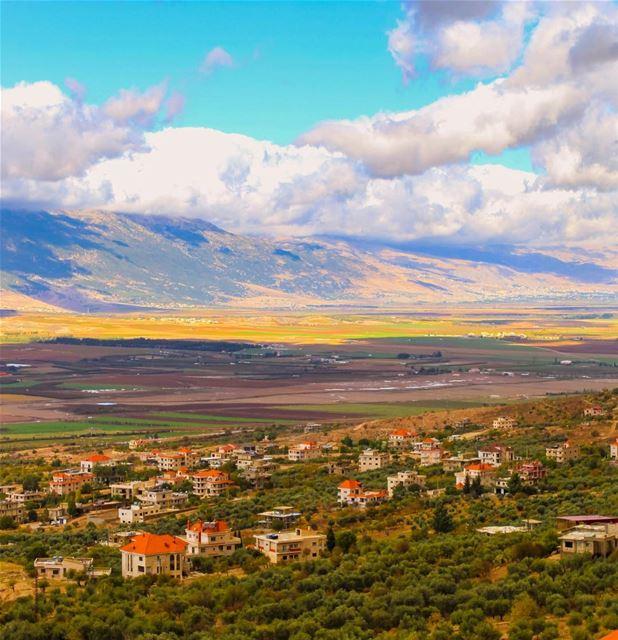 Bekaa valley Lebanon nature landscape photography hdr naturelovers... (Lala, Béqaa, Lebanon)