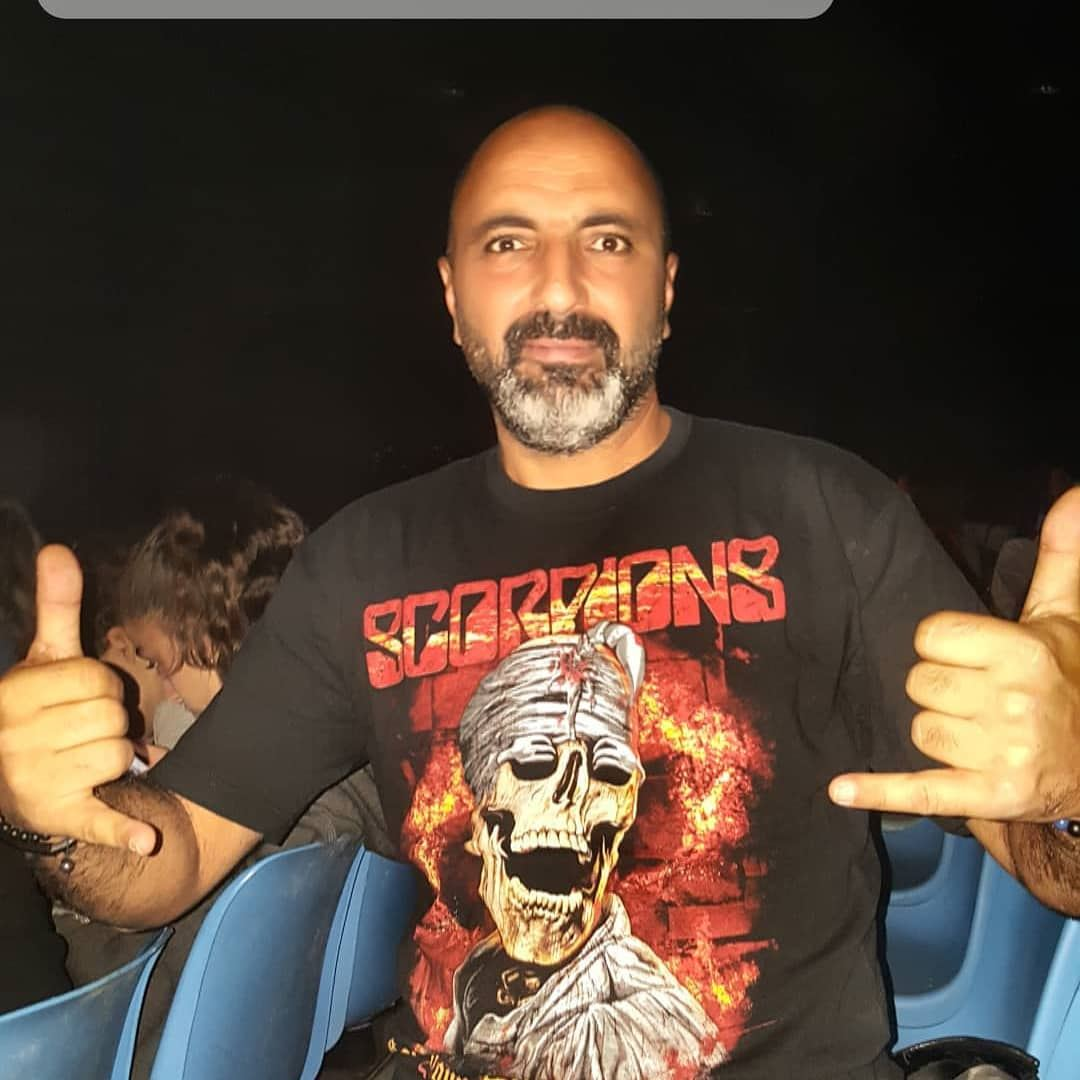 Scorpions crazy world tour 2018 Beirut 🎶🤘🎤🤘🇱🇧 scorpions rock ... (Seaside Arena)