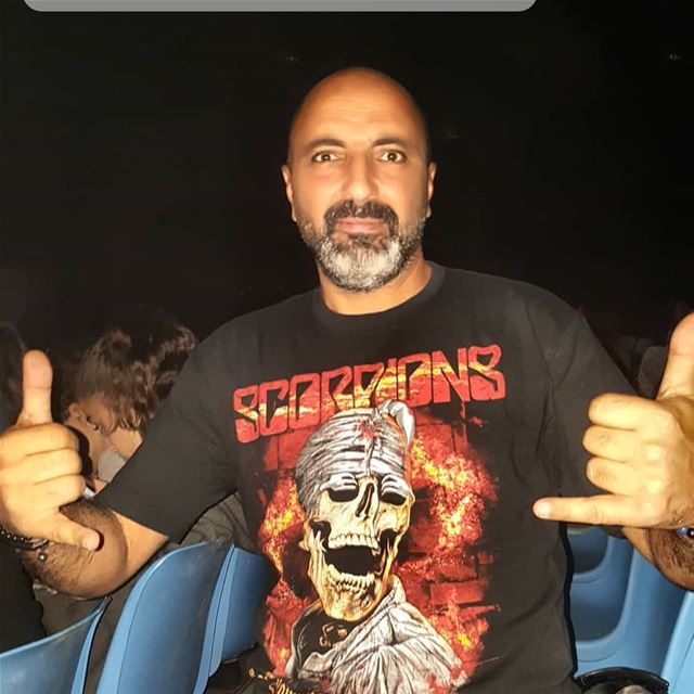 Scorpions crazy world tour 2018 Beirut 🎶🤘🎤🤘🇱🇧 scorpions  rock ... (Seaside Arena)