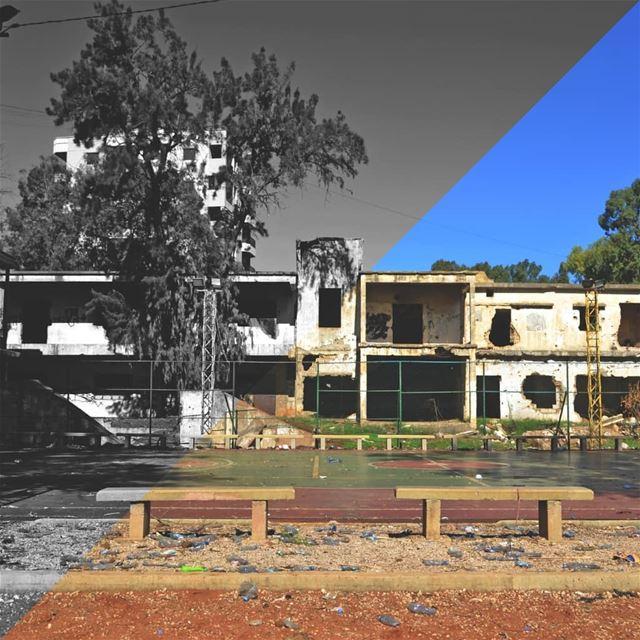 🇱🇧 Abandoned School in maten. uglybeirut بيروت_مش_بشعة بيروت... (Matn District)