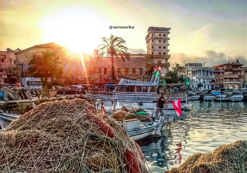 Another Magical Sunset at Tyre 🌇 takenbyme ptk_Lebanon visitlebanon ... (مدينة صور - Tyre City)