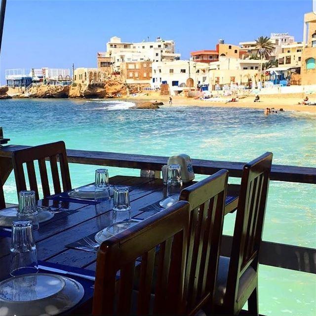 batroun restaurants البترون_سفرة lemarin batrounbeach batrouncoast ... (Le marin restaurant)