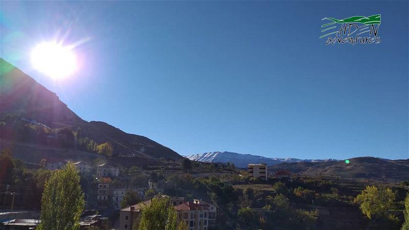 goodmorning snow ehdenadventures mikesportleb thenorthface ... (Ehden, Lebanon)