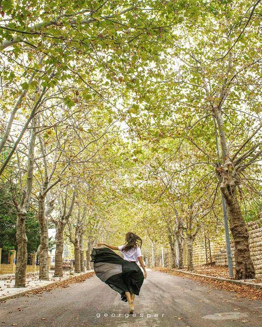 Best time of the year 🍂 Sofar • Lebanon ..... beautifullebanon ... (Sawfar, Mont-Liban, Lebanon)