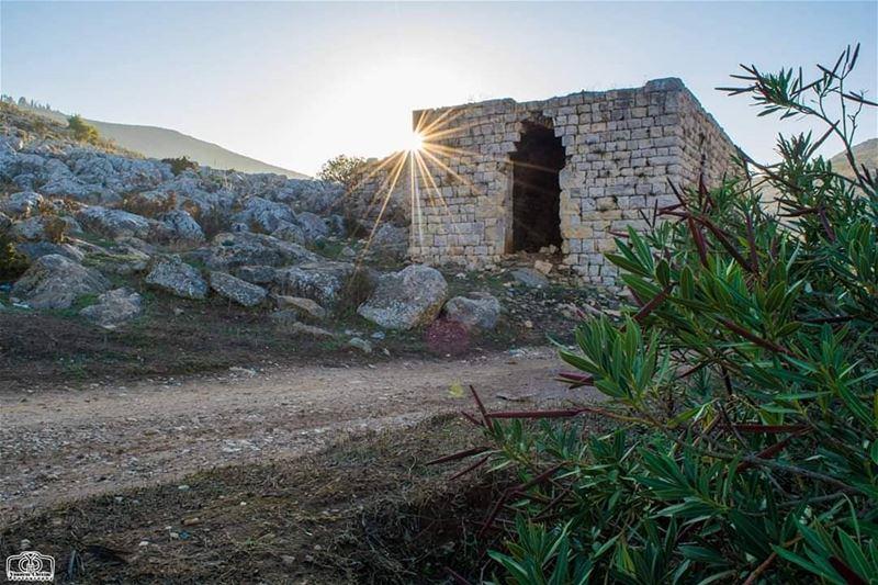 Sunrise from Houmine Al Fawka sun sunrise mill oldmill lebanon ...