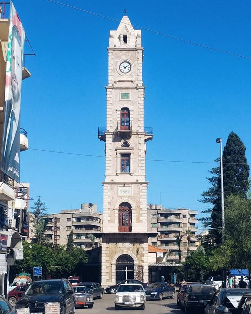 The Eiffel Tower of Tripoli ...... clocktower talltower ... (Tripoli, Lebanon)