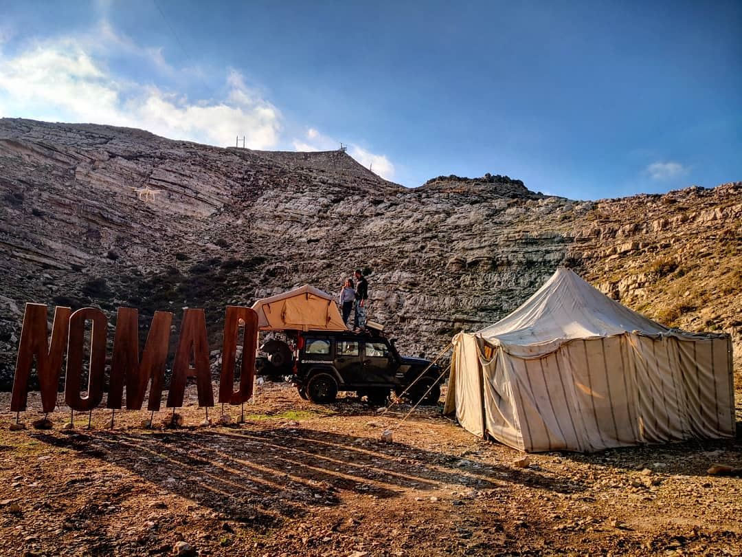 The Nomad expedition v2.0. Cosy and great journey. Gorgeous car camping... (Mzaar Kfardebian)