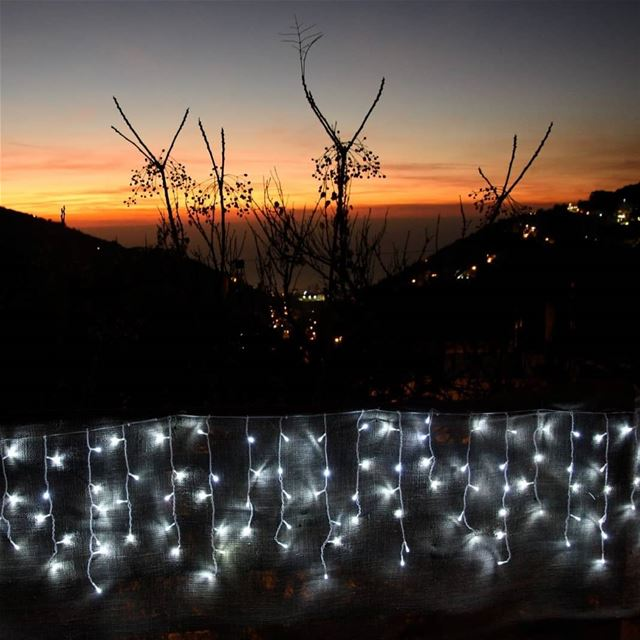 lights of the season 🇱🇧........ lebanon kesserwan ...