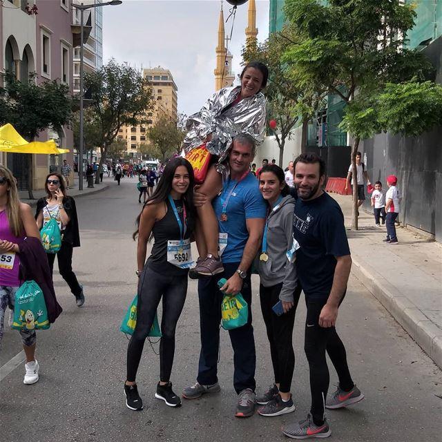 ehdenadventures beirutmarathon 42km lebanon 8km ... (Martyrs' Square, Beirut)