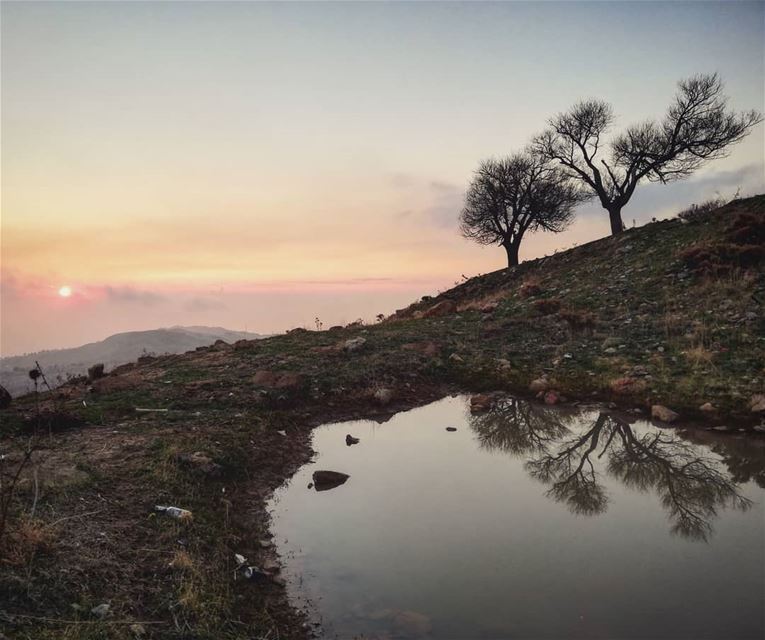 As Above So below... outdoors  nature  mountains  reflections  ... (Mount Lebanon)
