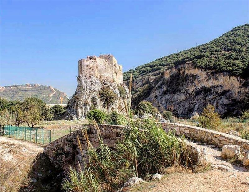 One of my best places in Batroun lebanon batroun mseilha batrouning ... (Qalaat el Mseïlha)