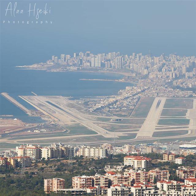 Take Me Away ✈️... Hseiki Lebanon beirut airport plane travel ... (Baaouarta, Mont-Liban, Lebanon)