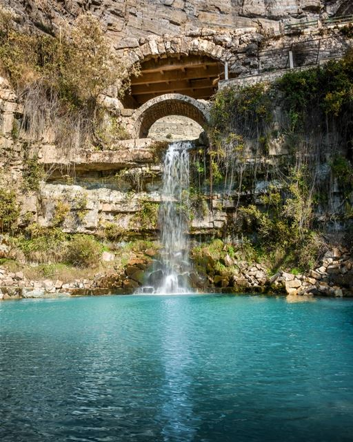 Afka The waterfall - Freshness from the heart of the Mountains -Shot taken... (Afka, Mont-Liban, Lebanon)