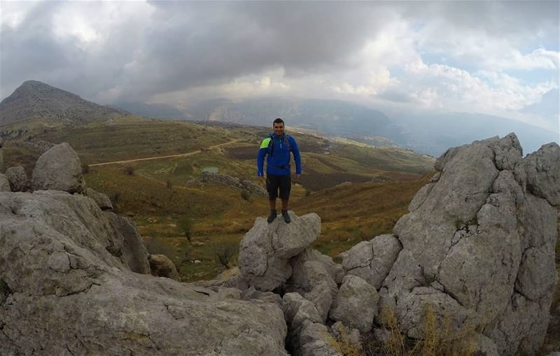 Walking is a man's best medicine. lebanon lebanonlovers hiking ... (El Laklouk, Mont-Liban, Lebanon)