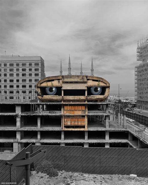 ~ E. T. ~... ET beirut abandoned abandonedplaces abandoned_junkies... (Beirut, Lebanon)