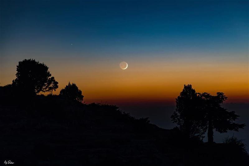🌘.... sunset sunsetpics landscape landscapephotography photographer... (Lebanon)