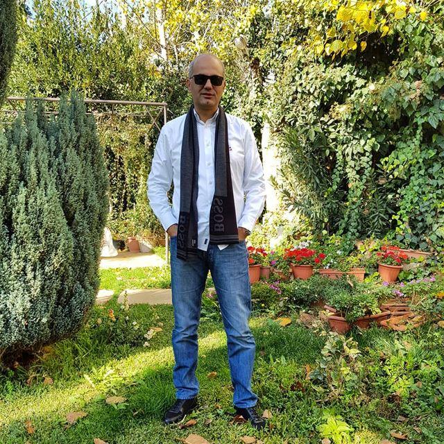 رجعت الشتوية.... zahle lebanon lebanese zahleh winter garden scarf... (Zahlé, Lebanon)