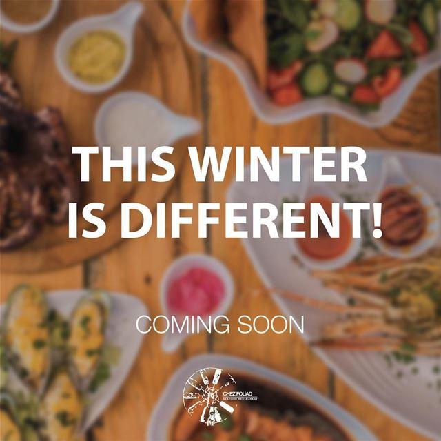 Same same but different 😎-- chezfouad winteredition food restaurant... (Chez Fouad)