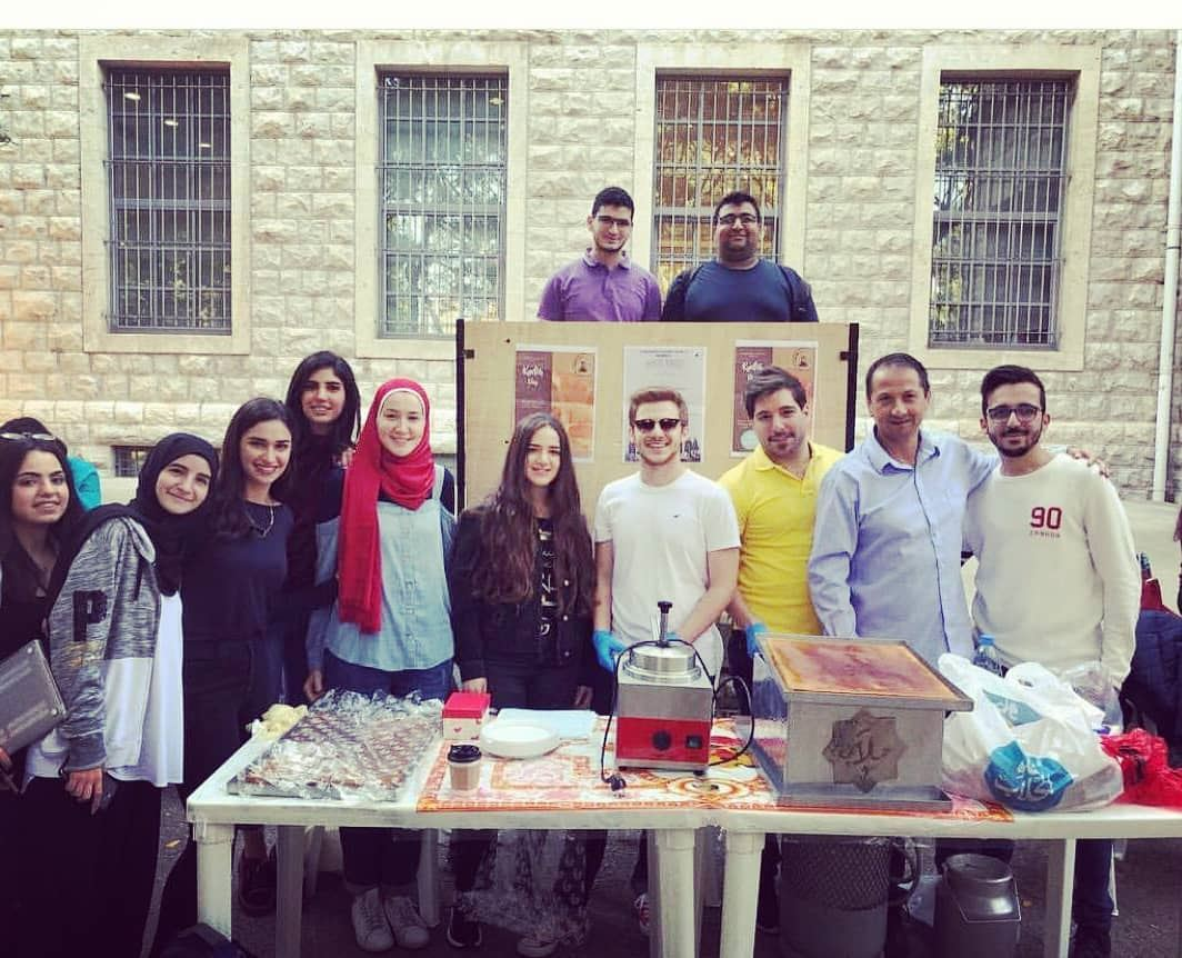 """Another successful """"Knefeh Day"""" event with the collaboration of AUB and... (AUB 