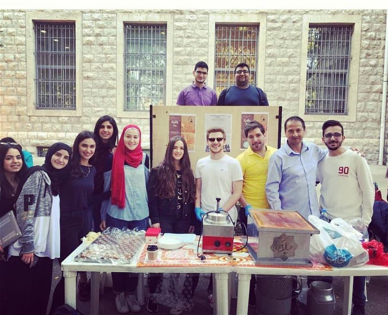"Another successful ""Knefeh Day"" event with the collaboration of AUB and... (AUB 