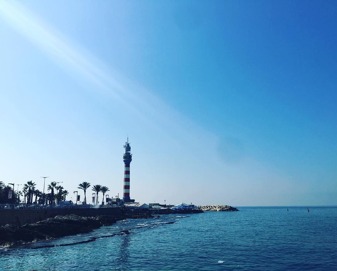 Good morning Beirut lighthouse ☀️⠀⠀⠀⠀⠀⠀⠀⠀⠀⠀⠀⠀⠀⠀⠀⠀⠀⠀⠀⠀⠀⠀⠀ kulturoscope ... (Beirut, Lebanon)