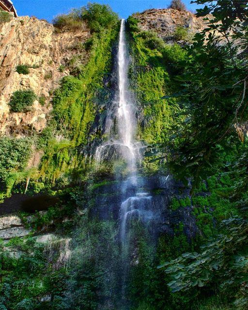 | Al shallal Jezzine | waterfall jezzine lebanon explorelebanon ... (Al Shallal Jezzine مطعم الشلال جزين)
