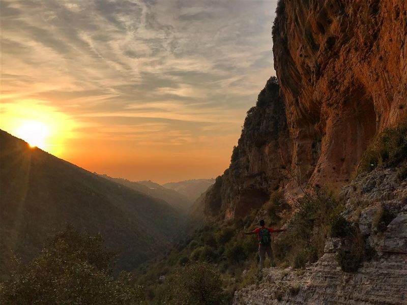 Beautiful Sunset‼️.................. lebanon nature ... (Sunset Soul)