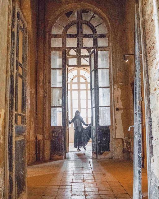 Wandering around the abandoned hallways of Grand Hotel of Sawfar • Lebanon... (Sawfar, Mont-Liban, Lebanon)