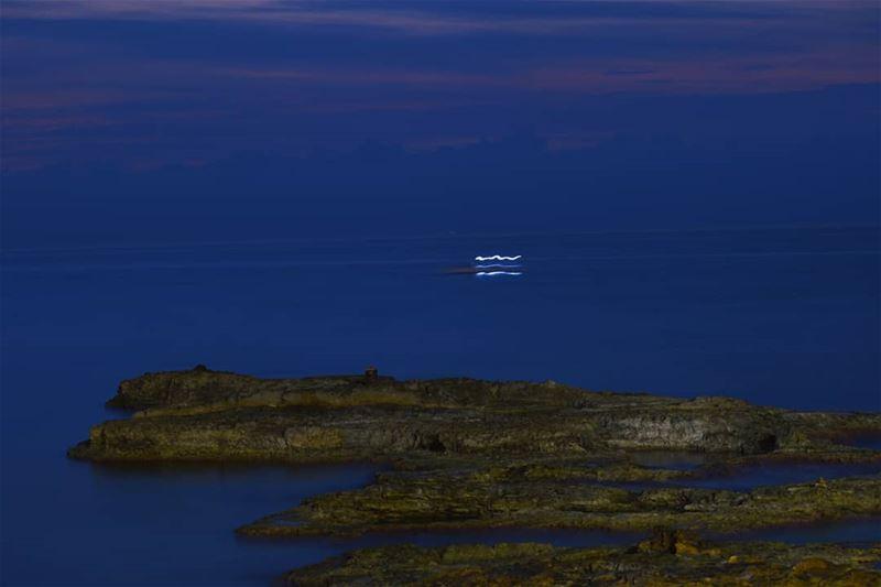 ~My 1st long exposure shot at night 🤔📸🌏~ (Kfar Abida)
