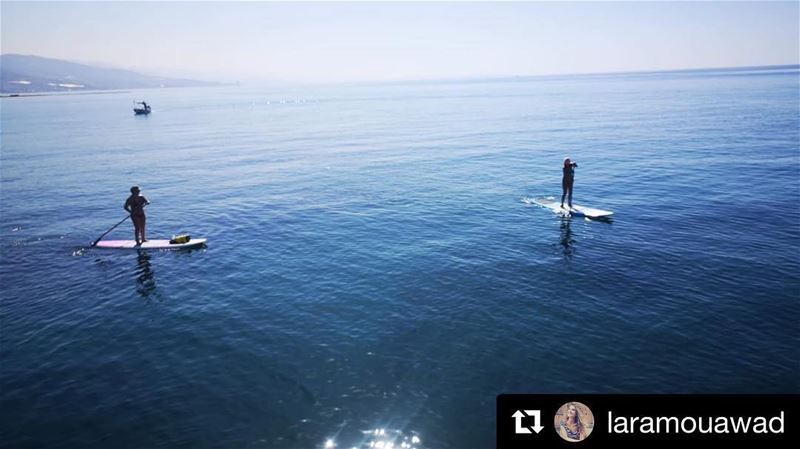 Summer isn't our favorite season to SUP; Autumn is, so are Winter and... (Lebanon)