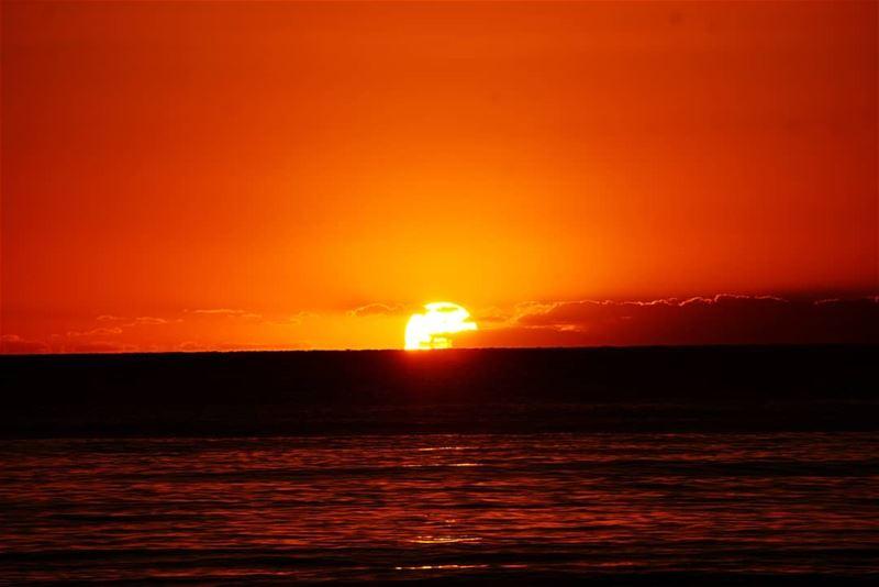 Sunset sunset clouds sun beirut beyrouth liban lebanon🇱🇧 sea ...