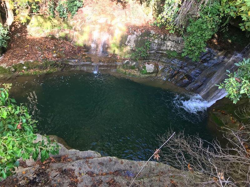 Natural pool‼️.................. lebanon nature ... (Private pool)