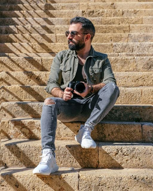 Chasing the Sun! ☀️ polaroundtheworld adidaslevant prophere fujifilm .... (Beirut, Lebanon)