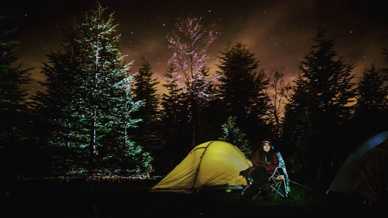 Camp more worry less mountains camping stars longexposure...