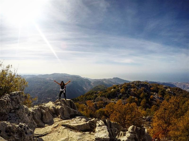 Autumn Hike HighestPeak JabalMoussa Lebanon 🇱🇧 livelovelebanon ... (Jabal Moussa Biosphere Reserve)