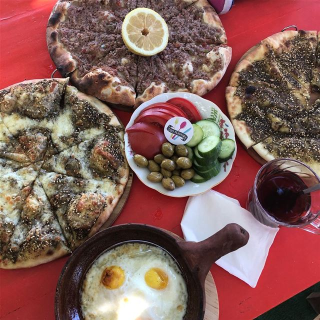 Good morning from Ehden 😍❤️ ehden ... 580flavors livelovefood ... (Ehden, Lebanon)