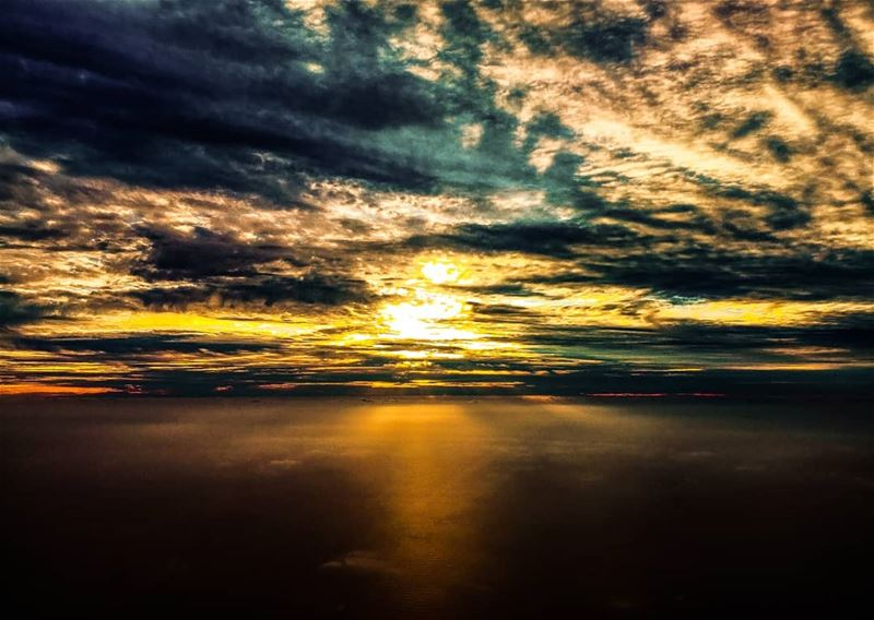 Sunset from up above ig_worldphoto ig_dynamice nature landscape ...