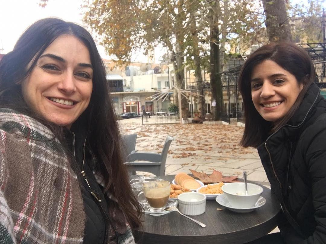 صبحية خَريف🍂🇱🇧@marietahane •••• fall fallvibes ehden ... (Ehden, Lebanon)