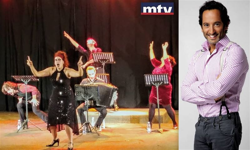From France to MTV! 3 operas singers & accordion!Presented by ... (MTV Lebanon)
