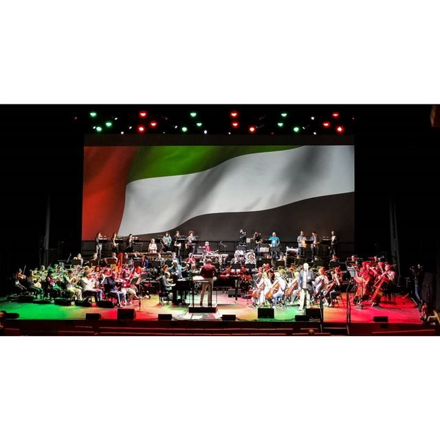 Rehearsals for the tomorrow's concert. rahbanibrothers rahbani ... (Dubai Opera)