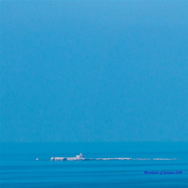 Blue melt down between sky and sea with no horizon just limitless blue!... (Ramkîne)