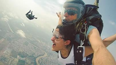 Bogota, Colombia: I DID IT!I've always been a sucker for adrenaline... (Bogotá, Colombia)