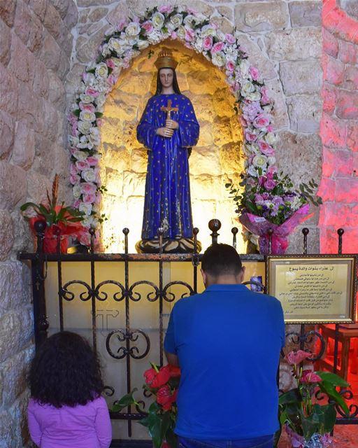 """""""Ô Marie conçue sans péché, priez pour nous qui avons recours à vous"""" fête (Saydit Bechwet)"""