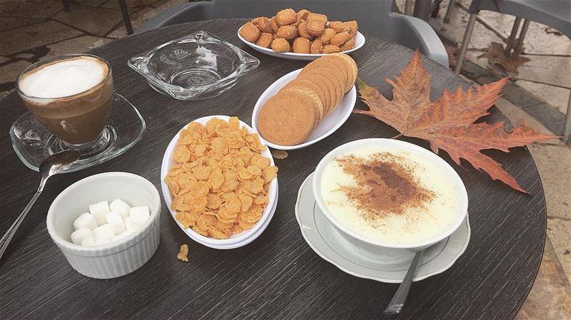 Cravings ☕️🇱🇧•••• coldlebanon apetit lebanesebreakfast hungry ... (Ehden, Lebanon)